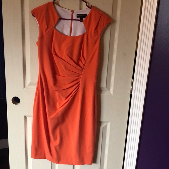 Dana Buchman Dresses & Skirts - Orange dress.  Size 6.